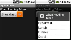 android textsize android cookbook recipe change the text size for a spinner