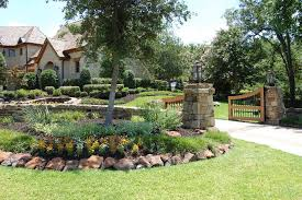 Formal Front Yard Landscaping Ideas - front yard driveway landscaping ideas landscape traditional with