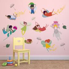 flying fairies childrens wall stickers supertogether flying fairies childrens wall stickers