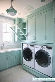 Laundry Room Storage Between Washer And Dryer by Upstairs Laundry Room The Sunny Side Up Blog