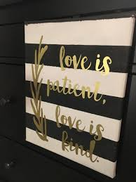 love is patient love is kind canvas wall art 1 corinthians 13