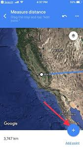 distance between two points map how measure distance between two points on maps with iphone