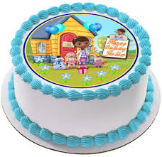 doc mcstuffins edible image doc mcstuffins 1 edible birthday cake and cupcake topper edible