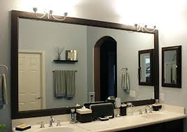 Frames For Bathroom Mirrors Lowes Easy Diy Mirror Frame And Lowes Light Fixture Decorating