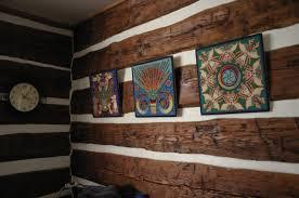 log home interior walls the log cabin