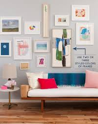 How To Design A Gallery Wall The Guide To A Well Hung Gallery Wall Emily Henderson