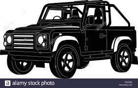 jeep silhouette jeep stock vector images alamy