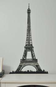 Amazon Com New Ikea Premiar by Ikea Premiar Picture Assembly Eiffel Tower Wall Decor Stickers