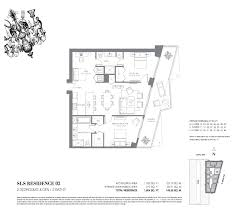 Icon Brickell Floor Plans Sls Hotel And Residences Brickell Luxury Condo For Sale Rent Floor