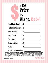 it s a girl baby shower ideas the price is right baby shower this is not the greatest