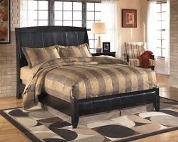 Platform Sleigh Bed Harmony Brown Platform Sleigh Bed