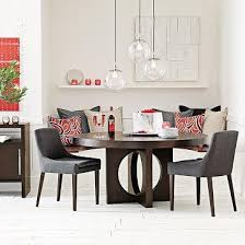west elm round dining table west elm round dining table with cutout legs l4l