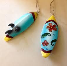aloha surfboard ornaments sea things ventura