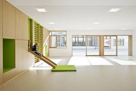 Decor Kindergarten Terenten Design By Feld Architects Modern - Modern architecture interior design