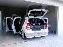 renault logan trunk sandero rebaixado youtube