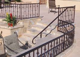 Interior Banister Railings Ornamental Iron Balcony U0026 Stair Railings Hand U0026 Guard Rails