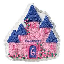 enchanted castle cake wilton