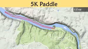 Kayak Map Rock U0026 Row Triathlon Support A Park