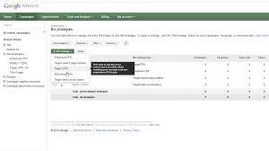 adwords bid adwords bids bid strategies explained