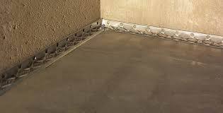 Interior Perimeter Drainage System Innovation French Drain Basement Systems Vs Interior Perimeter