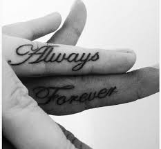 couples tattoos on fingers tattoo collections