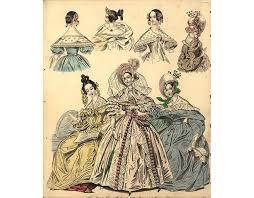 24 vintage fashion sketches free public domain images
