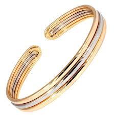golden cuff bracelet images Van cleef and arpels gold cuff bracelet at 1stdibs jpg