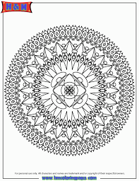 abstract mandala design coloring page h u0026 m coloring pages in