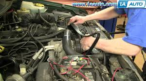 2003 jeep grand radiator how to install replace serpentine belt jeep grand 97 98