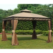 10x10 Canopy Tent Walmart by Outdoor Replacement Canopy Sunjoy Gazebo 10x10 Gazebo