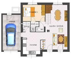 prix maison neuve 4 chambres plan maison neuve 4 chambres