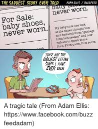 the saddest story ever told adam elus buzzfeed never worn for sale
