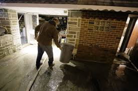 wet basement avoid getting soaked