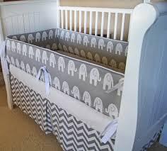 Gray And White Chevron Crib Bedding Gray And White Chevron Crib Bedding Modern Bedding Bed Linen