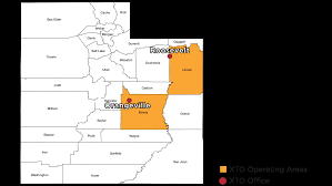 Counties In Utah Map by Utah Operating Facts Xto Energy