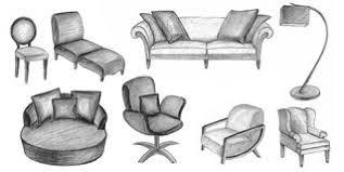 sketch furniture royalty free stock image image 29973256