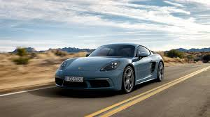 miami blue porsche 718 porsche 718 cayman is your new turbocharged tin top sports car