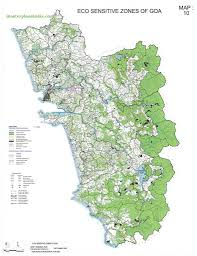 Goa Map Eco Sensitive Zone Map Goa Pdf Download Master Plans India