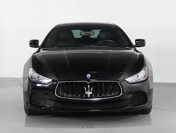 maserati ghibli sedan used 2014 maserati ghibli sedan for sale in west palm fl 88810