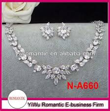 simple diamond sets hot sale simple diamond necklace set buy simple diamond necklace
