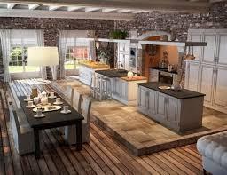cuisine avec brique awesome cuisine avec brique 10 blocage d233co salon avec