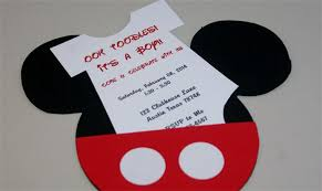 mickey mouse baby shower baby shower invitations mickey mouse baby shower invitations