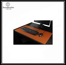 Leather Desk Mat by Genuine Leather Desk Pad Mat Blank Top Waterproof Large Gaming