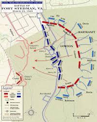 Gettysburg Pennsylvania Map by Civil War Battle Maps Battle Of Fort Stedman Second Phase