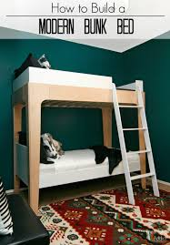 Modern Bunk Bed With Desk Modern Bunk Beds Pneumatic Addict How To Build Modern Bunk Beds