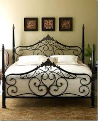 black wrought iron headboard u2013 unrulygirl me