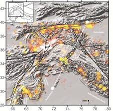 Frontal Boundary Map The Lithospheric Density Structure Below The Western Himalayan