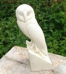 marble owl garden ornament garden ornaments find animal bird
