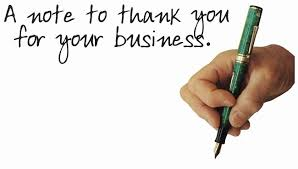 Thank You Letter To Customers For Their Business by Thanking Your Customers For Their Business Is Smart Sales Copy