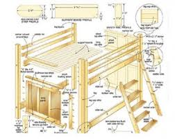 Woodworking Plans Loft Beds by Loft Bed Plans Space Savers